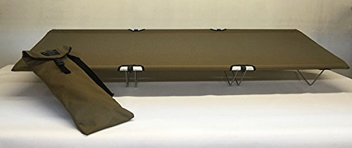 Go-Kot Regular Portable Folding Camping Cot, Coyote Brown by Go-Kot