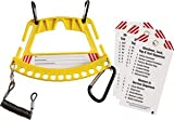 Yellow Portable Safety Lock and Tag Carrier