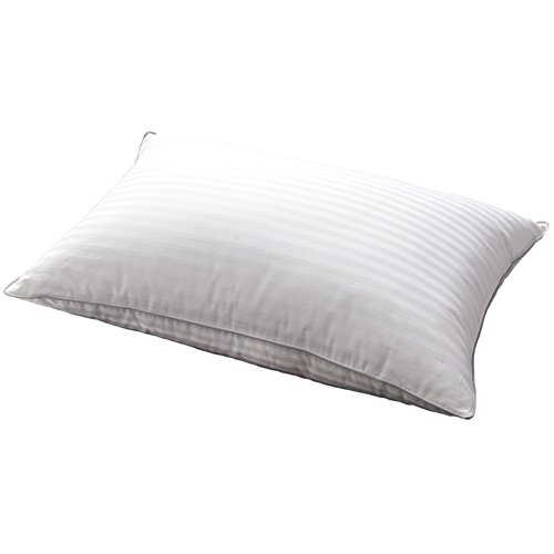 e Down and Feather Bed Pillows - Three Chambers Design,1000TC 100% Egyptian Cotton Cover Standard/Queen Size,Soft Pillow (1 Pillow) (Soft Feather Pillow)