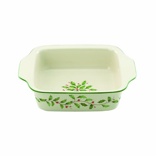 Lenox Holiday Bakeware (Lenox Holiday Small Square Baker)