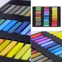 Temporary Hair Chalk Set Non-Toxic Hair Color Cream Rainbow Color Hair Dye(36pcs) by Mily (Image #6)