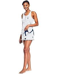 U.S. Polo Assn...... Womens 2 Piece Lounge Shirt Elastic...