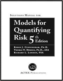 Models for Quantifying Risk, 5th Edition by Ph.D. Robin J. Cunningham (2013-01-01)