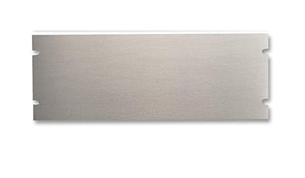 483 mm 15U Unfinished Blanking PBPA19026UNF PBPA19026UNF Standard 19 Racks 667 mm Aluminium Panel