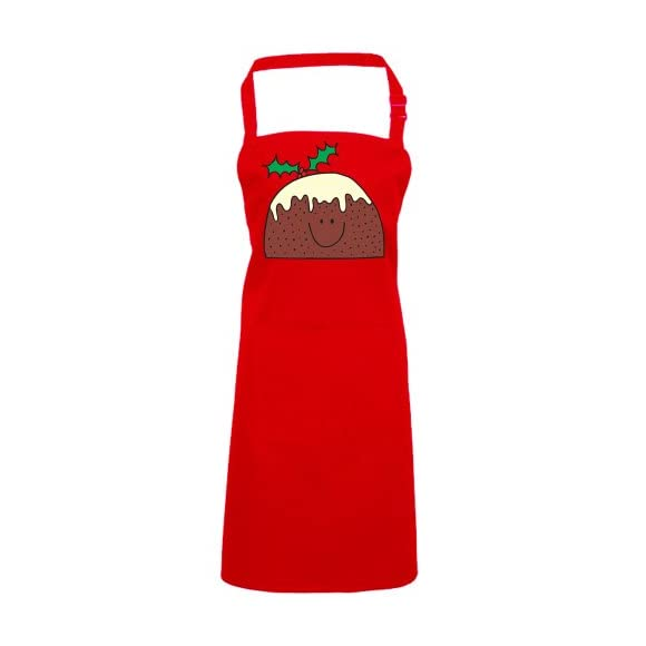 Batch1 Mr Xmas Pudding Festive Fun Novelty Pud Christmas Chefs Apron