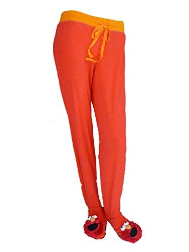 Sesame Street Womens Fleece Bottoms