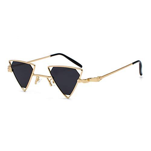 NDY Luz De De Yellow Hombres Personalidad Gafas Sol Triángulo Black Recorte Gafas Señoras Gafas Sol De Sol rnqOrfCx