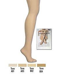 The Nudes Toeless Control Top Pantyhose