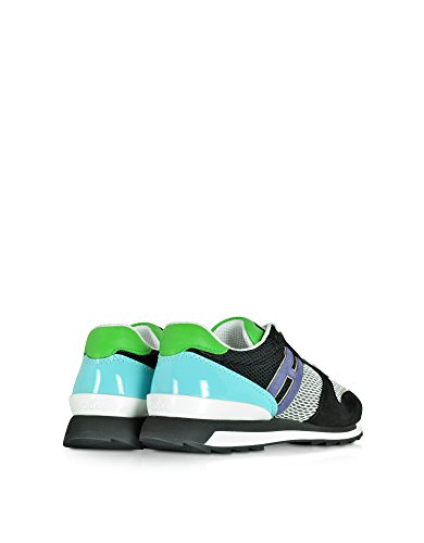 Hogan Sneakers Donna HXW2610Q900C7Z0XE5 Tessuto Multicolor