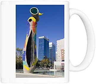 Taza de la foto de Dona i (mujer y pájaro) Ocell escultura de Joan ...