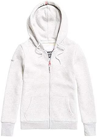 Superdry Women's LA Athletic Zip UP Hooded Jacket, Trady