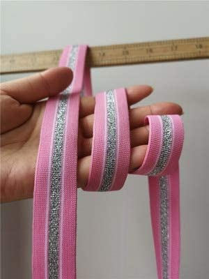 Lace Crafts RS1973 - Cinta de tela elástica de poliéster para ...