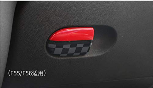 Storage Box Handle Door Cover Trim Cap ABS for Mini Cooper F54 Clubman F55 Hardtop F56 Hatchback F57 Covertible F60 Countryman (F55 F56 F57, JCW)