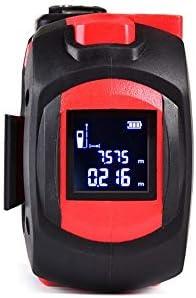 CXBH メジャー-5 M家庭用ステンレス鋼の巻き尺レーザレンジファインダの高精度赤外線30 Mエレクトロニックルーラー