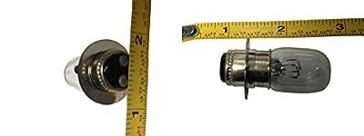 N2 H280701 ATV Headlight Bulb, 12 Volts, 25 Amps/Watts, 3/4-Inch Diameter; for Select Yamaha & Kawasaki