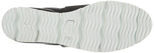 Loafer Bianco Cleated Damen Schwarz Black Mokassin Heavy AnztZp8xzq