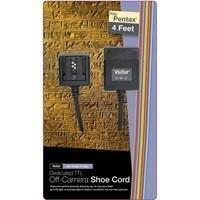Vivitar Digital Off Shoe Flash Cord for Pentax Cameras