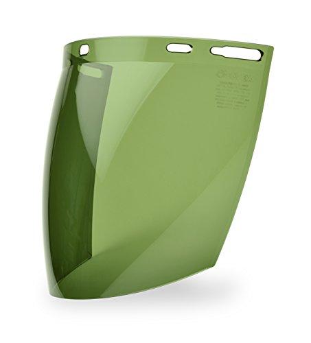 Elvex WELFS12LG Fs-12Lg Molded Aspherical Lexan Face Shield, 12