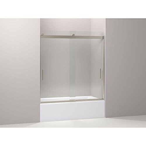 Kohler K-706103-L-ABV Levity Rear Sliding Glass Panel and Assembly Kit for Showe ()