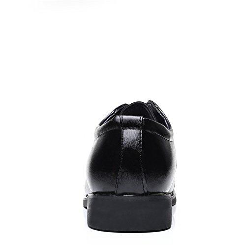 Lace Nero shoes da Oxfords shock Super 37 Vamp Assorbimento Basse formali EU 2018 Scarpe Up Nero uomo Dimensione Xujw Color Scarpe leggero Splice Stringate ngd47pYpq