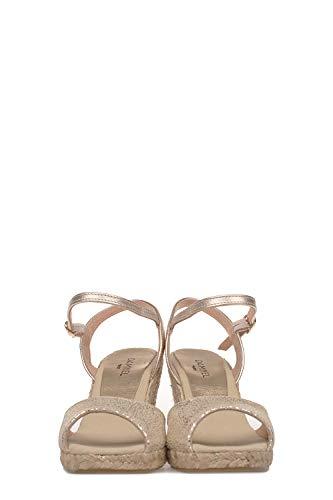 Compensées PARIS Cuir DAMY1814926GOLD Femme Or Chaussures DAMYEL FYqpaxUwU