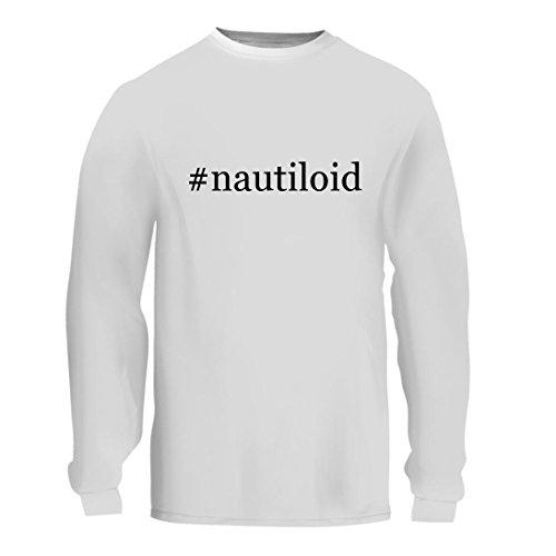 #nautiloid - A Nice Hashtag Men's Long Sleeve T-Shirt Shirt, White, Large