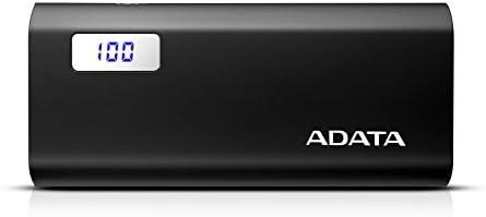 Adata AP12500D-DGT-5V-CBK Batería de Respaldo, 12500 mAh, color Negro