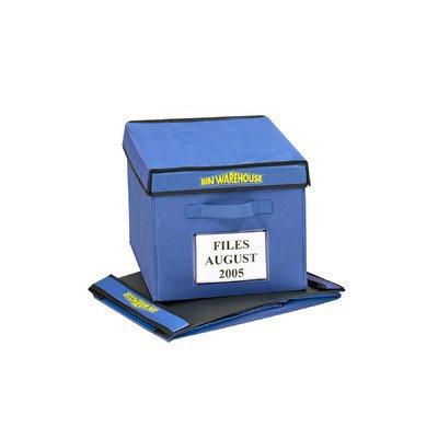 Bin Warehouse DFAE09FT6P Fold-A-Tote, 9-Gallon Size, 6-Pack