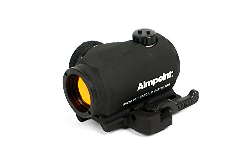 Aimpoint Micro H-1  with A.R.M.S. #31 Throw Lever Mount