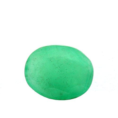 Be You 4.3cts Vert Couleur Facettes Ovale Forme Naturel Zambien Émeraude