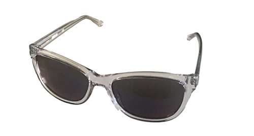 Kenneth Cole Reaction Mens Crystal Clear Square Plastic Sunglass KC1267 26X