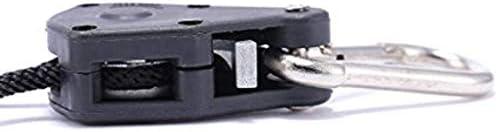 B Blesiya 2ペアは、リフレクターや照明器具、カーボンフィルター、換気装置などを吊り下げるためのライトロープラチェットハンガーを成長させます