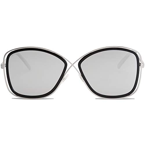 screw detail metal sunglasses - 6