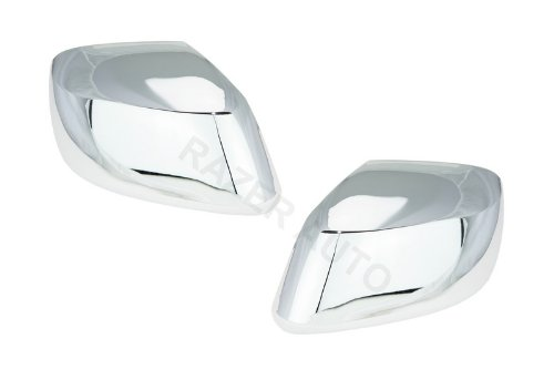 Razer Auto CHROME MIRROR COVER for 2005-2013 NISSAN FRONTIER/XTERRA