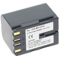 Power2000 BN-V416U Replacement Lithium-Ion 7.2v, 2000mAh Camcorder Battery for JVC BN-416U