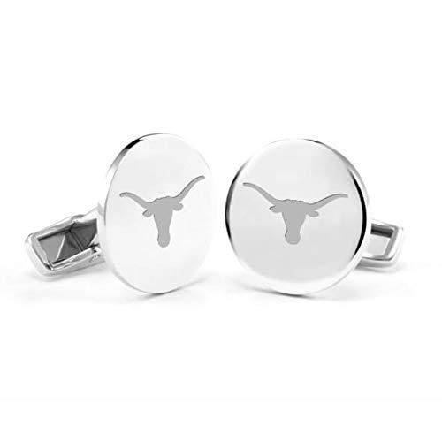 M. LA HART University of Texas Cufflinks in Sterling Silver