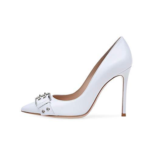In Donna Sposa Tacco Singole Scarpe Alto Eleganti Pompe qE0Xwx