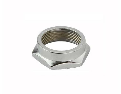 Headset Lock Nut 22.2 Chrome. bicycle headset, bike headset, chopper headset, headset parts Bike part (Locknut Headset)