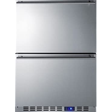 3.5 cu. ft. Upright Freezer in Stainless Steel (SCFF532D)