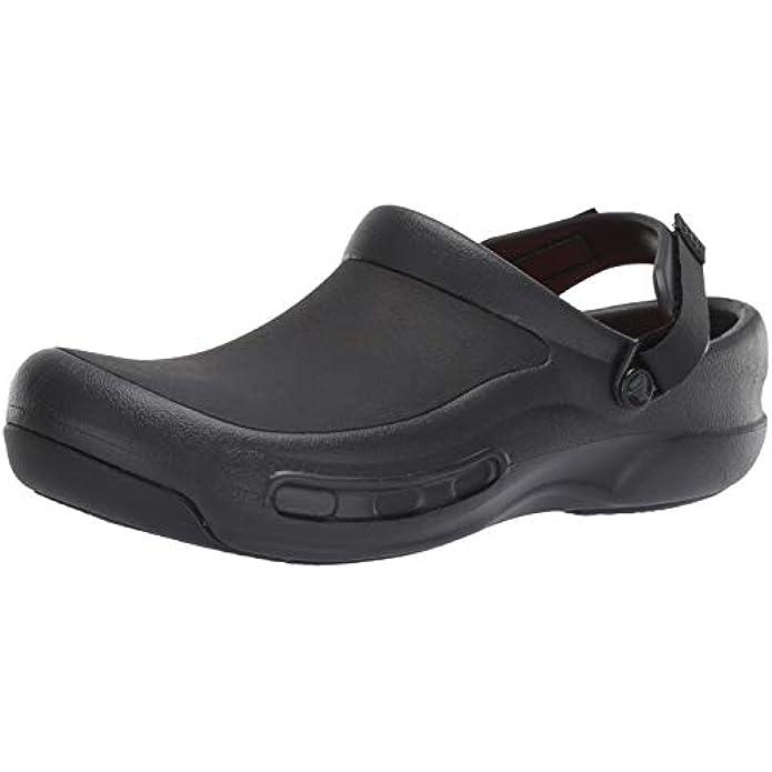Crocs Men's and Women's Bistro Pro Literide Clog   Slip Resistant Work Shoes