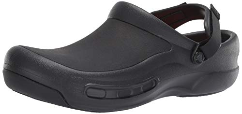 Crocs Bistro Pro LiteRide Clog, Black, 5 US Men/ 7 US Women M US