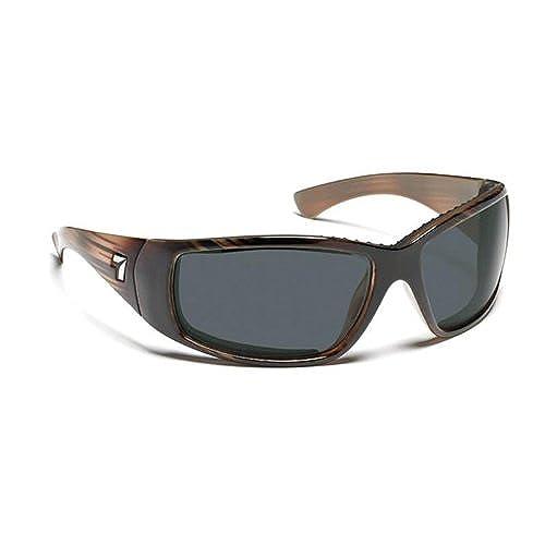 7 Eye Taku Full Wrap Sunglasses, Horn Frame, 24 - 7 NXT Original Lens