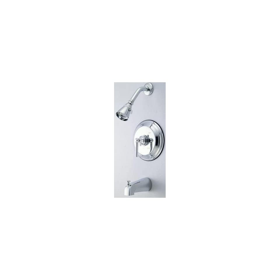 Elements of Design EB2631DXT Tampa Trim Only for Single Handle Tub and Shower Faucet, Polished Chrome