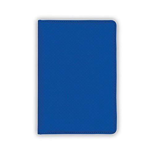 Samsill Fashion Portfolio/ Padholder, Diamond Deboss Design, Soft Padded Textured Cover, Junior Size Writing Pad, 5 x 8 - Mini Folio