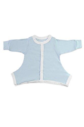 Hip Pose Blue Pavlik Sleepsuit : 0-3 months
