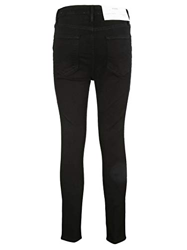Donna Ahrskc208 Cotone Nero Frame Jeans 5zOxXX