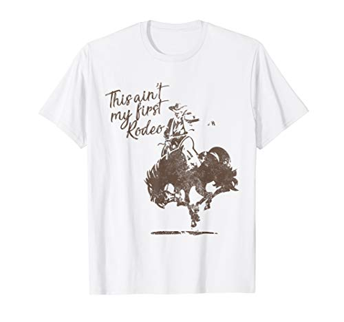 (Cowboy's Rodeo T-Shirt for Bull Riders and Calf Ropers)