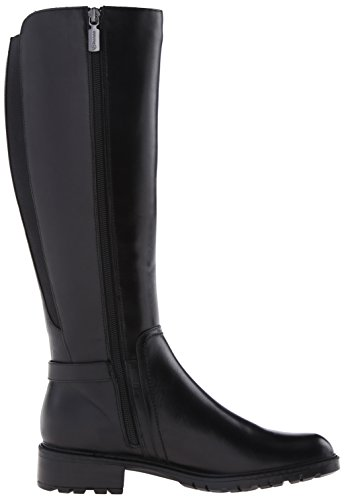 Leather Blondo Waterproof Vassa Black Women's Boot Riding BwB7Yq