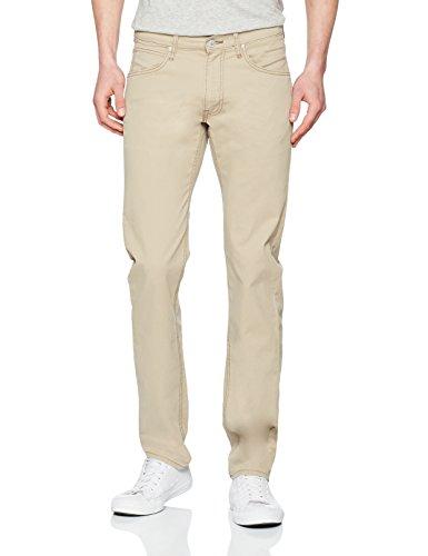 Lee beige Daren Zip Jeans Uomo Fly Beige Sc76 rrHwP