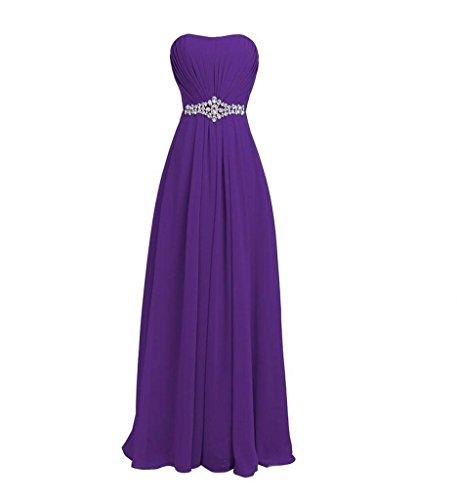 Damen Langes Brautjungfernkleider Lila Elegant Marie Kleider Abendkleider Jugendweihe Kleider Festliche Braut La xg0HUqnvzU